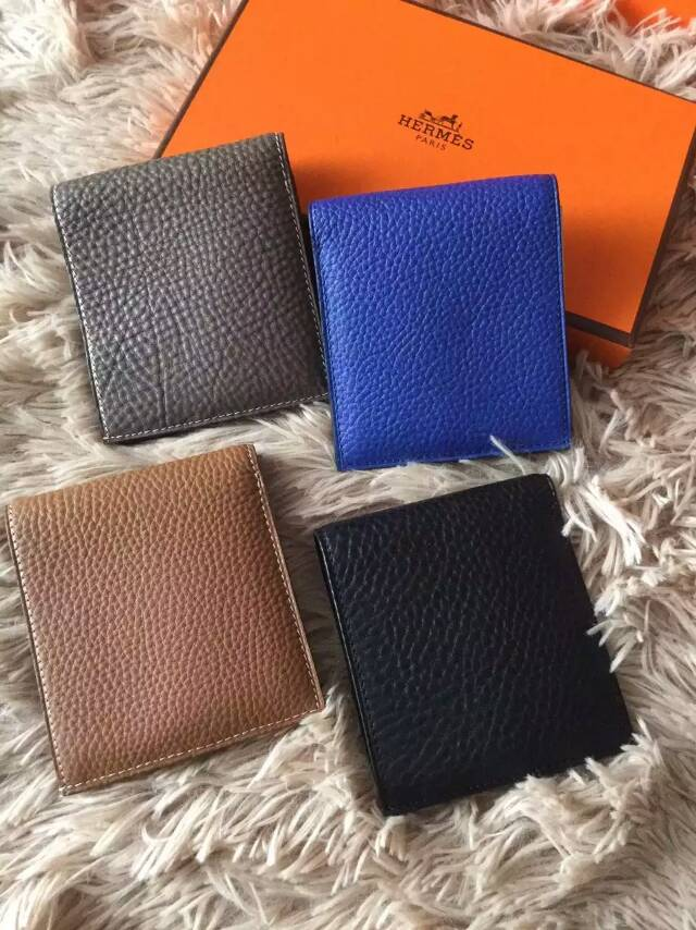 Top Quality Hermes Original Togo Leather Wallet - 4 Color In Stock