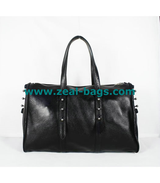 AAA Replica Alexander Wang Black Leather Shoulder Bag