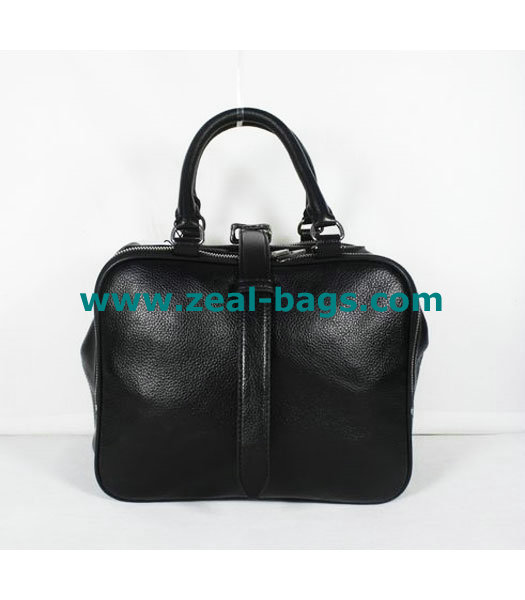 AAA Replica Alexander Wang Black Leather Tote Bag