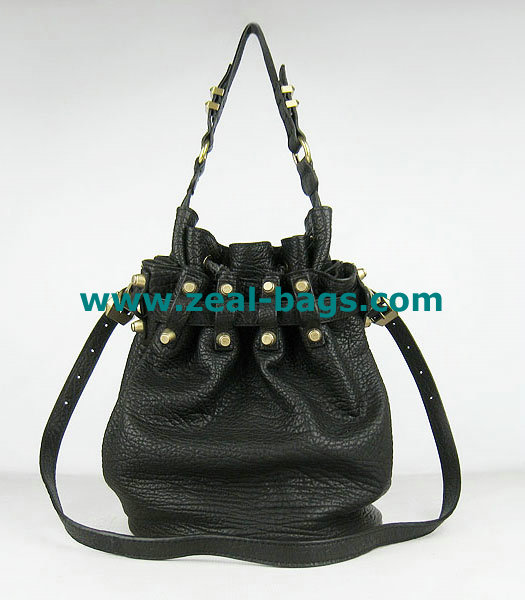 AAA Replica Alexander Wang Diego Studded Bag Black Lambskin