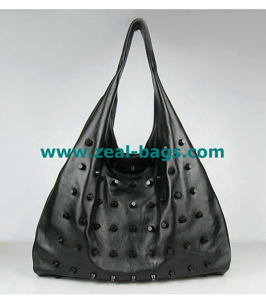 AAA Replica Alexander Wang Large Studded PM Bag Black Lambskin