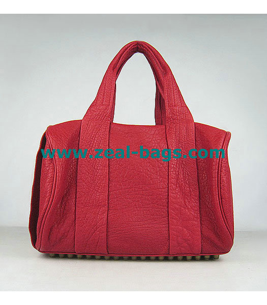 AAA Replica Alexander Wang Rocco Mini Duffle Top Handle Red