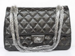 Replica Chanel 2.55 Classic Flap Bag Quilted 40590 Black Outlet