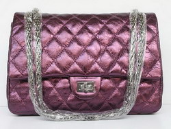 Replica Chanel 2.55 Classic Flap Bag Quilted 40590 Purple Outlet