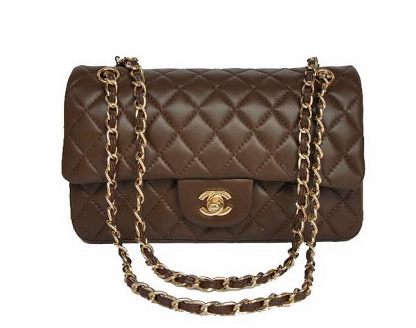 High Quality Knockoff Chanel 2.55 Series Brown Sheepskin Leather Flap Bag