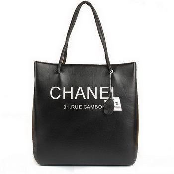 7A Discount Chanel Cambon Bags A46981 Black