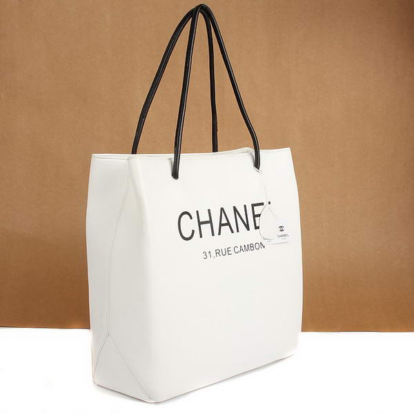 7A Discount Chanel Cambon Bags A46981 White