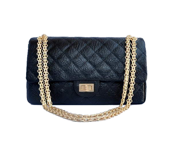 AAA Cheap Chanel Jumbo Flap Bags A30226 Black Golden On Sale