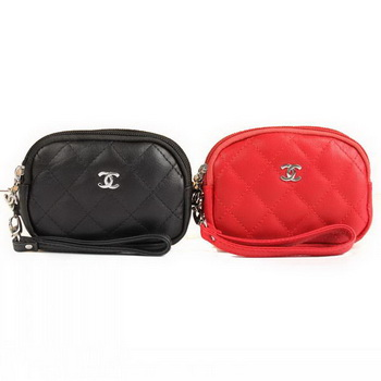 Fake Chanel Clutch Bags 1688 Black and Red On Sale