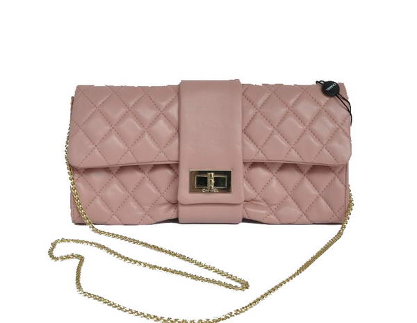 Fake Chanel Mademoiselle Turnlock Clutch Bags 2253 Pink On Sale