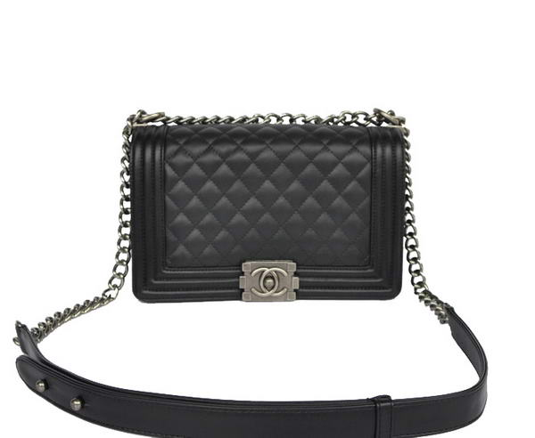 7A Chanel Le Boy Flap Shoulder Bag A67086 Black Online