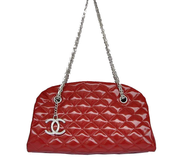 Best 2011 New Cheap Chanel Patent Leather Shoulder Bag 4709 Red On Sale