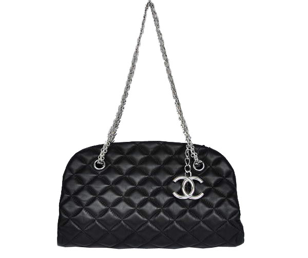Best 2011 New Cheap Chanel Sheepskin Shoulder Bag 4709 Black On Sale