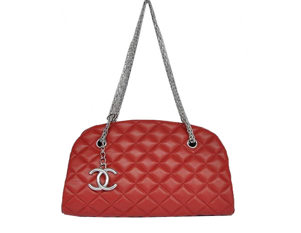 Best 2011 New Cheap Chanel Sheepskin Shoulder Bag 4709 Red On Sale