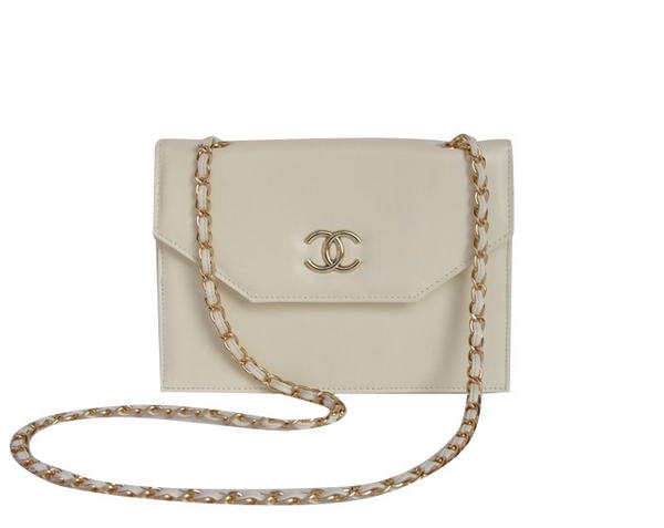 Best 2012 New Chanel Shoulder Flap Bag A58037 Off White On Sale