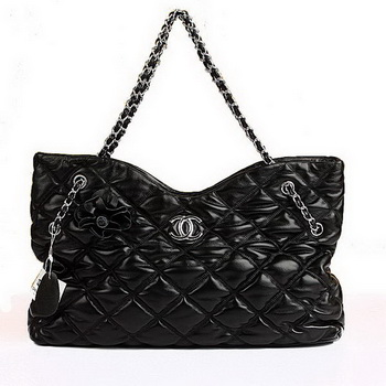 Best Chanel Large Bubble Bag 09912 Black On Sale