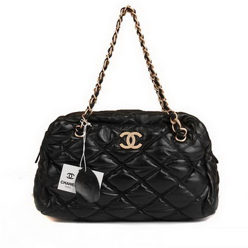 Best Chanel Bubble Bag 3721 Black On Sale