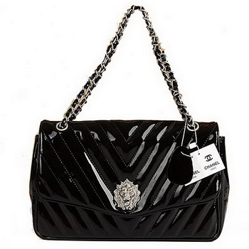 Best Chanel Flap Shoulder Bag A31133 Black On Sale