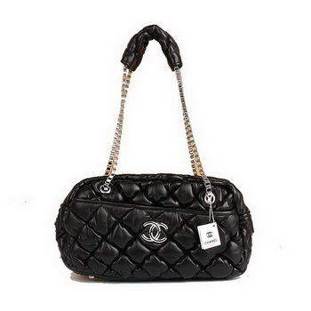 Best Chanel Large Bubble Bag A46168 Black On Sale