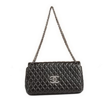 Best Chanel Flap Shoulder Bag A47583 Black On Sale