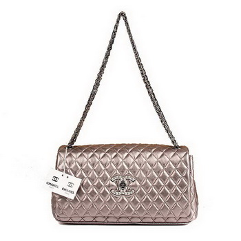 Best Chanel Flap Shoulder Bag A47583 Silver On Sale