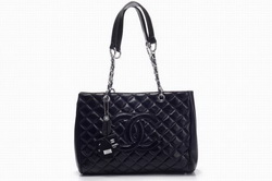 Best Chanel Lambskin Leather Shoulder Bags 14607 Black On Sale