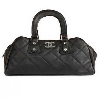 Replica 2012 New Arrive Chanel Doctor Tote Bag A20183 Black On Sale