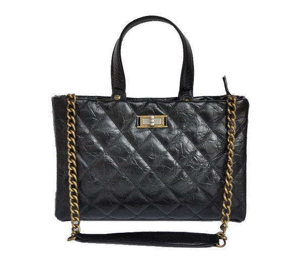 Replica Chanel Glazed Crackled Calfskin Tote Bag A66818 Y07405 94305 On Sale