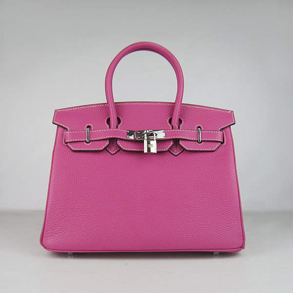 Replica Hermes Birkin 30CM Togo Leather Bag Peachblow 6088 On Sale