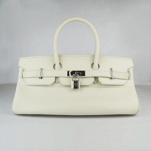 Cheap Hermes Birkin 42cm Replica Togo Leather Bag Beige 62642