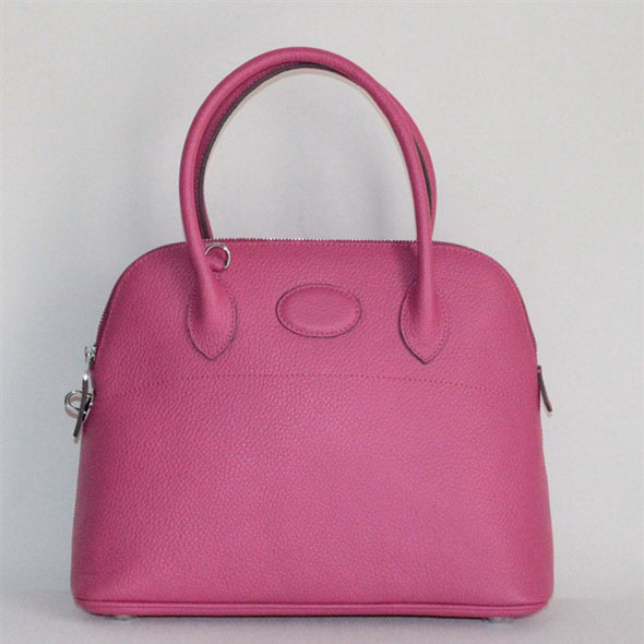 High Quality Replica Hermes Bolide Togo Leather Tote Bag Peach 509084