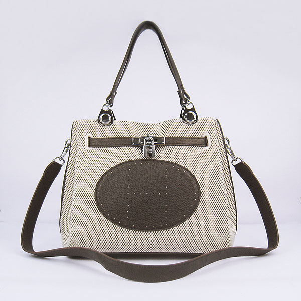 Best Hermes New Arrival Double-duty handbag Dark Coffee 60668