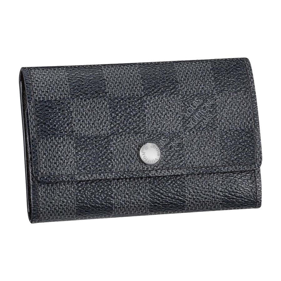 Cheap Louis Vuitton 6 Keys Holder Damier Graphite Canvas N62662
