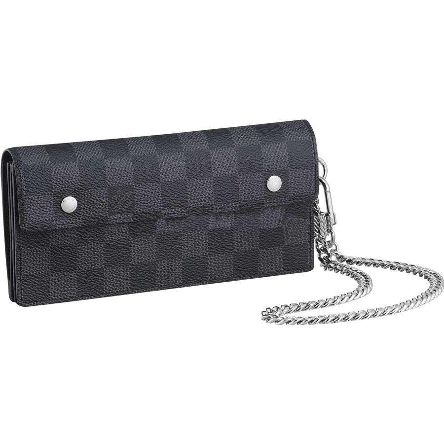 Cheap Louis Vuitton Accordeon Wallets Damier Ebene Canvas N60023 Replica