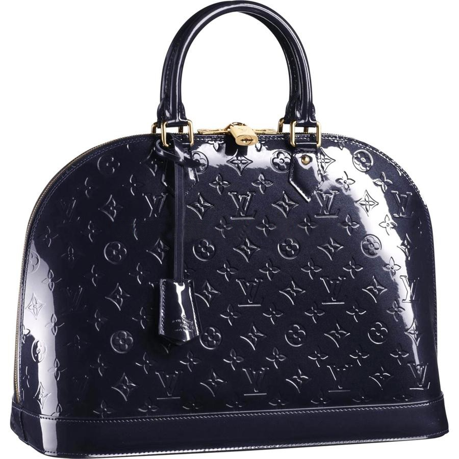 High Quality Louis Vuitton Alma MM Monogram Vernis M91448 Handbags Replica