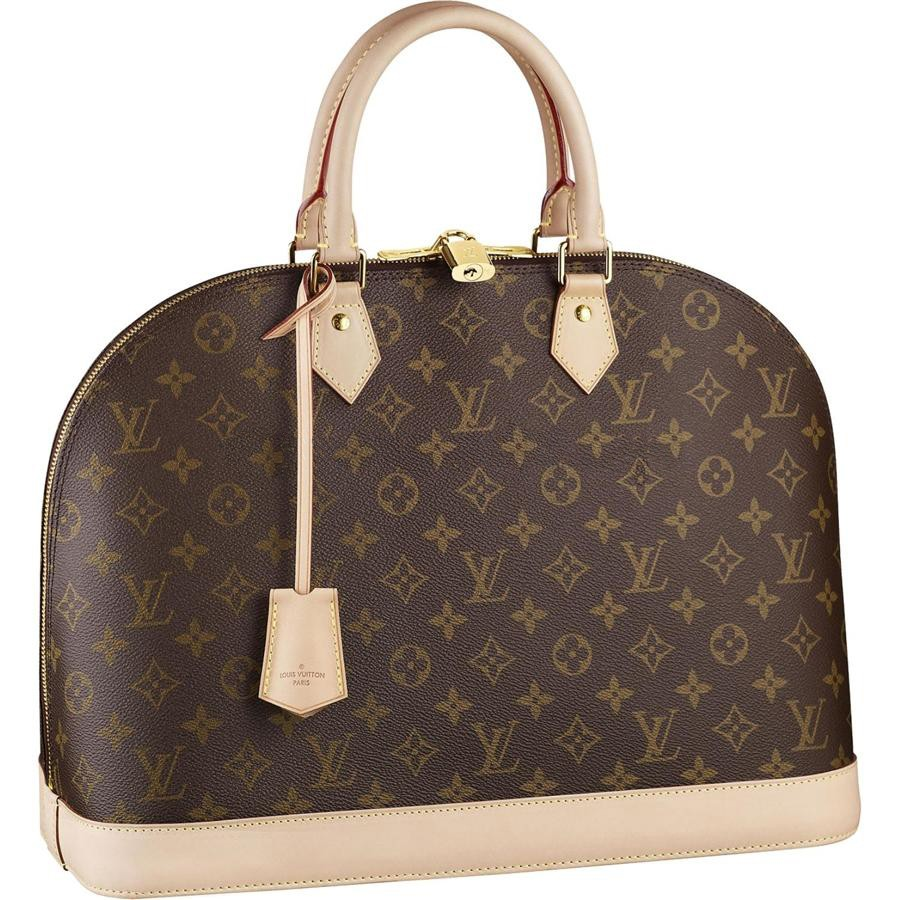 7A Replica Louis Vuitton Alma Monogram Canvas M53150 Handbags Online