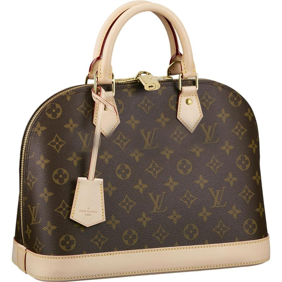 7A Replica Louis Vuitton Alma Monogram Canvas M53151 Handbags Online