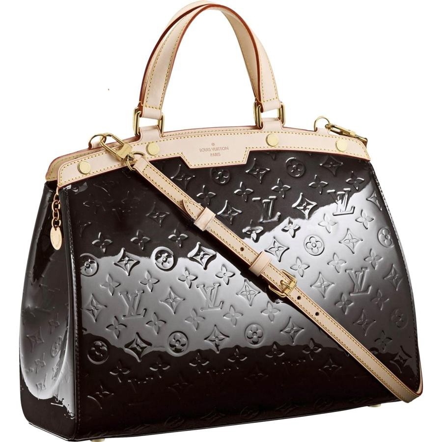 AAA Louis Vuitton Brea GM Monogram Vernis M91453 Replica