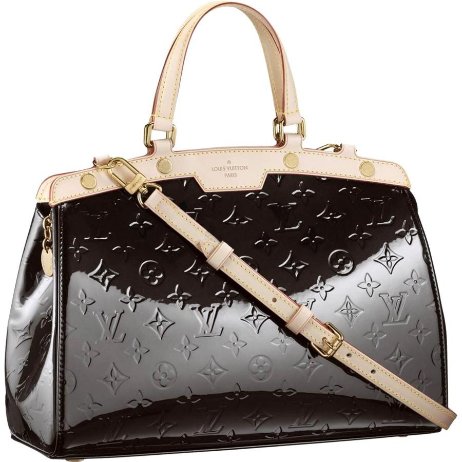 AAA Louis Vuitton Brea MM Monogram Vernis M91455 Replica