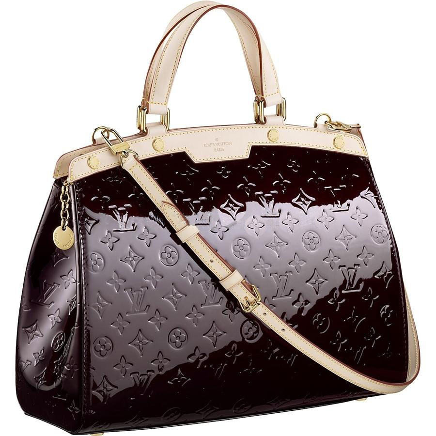 AAA Louis Vuitton Brea MM Monogram Vernis M91619 Replica