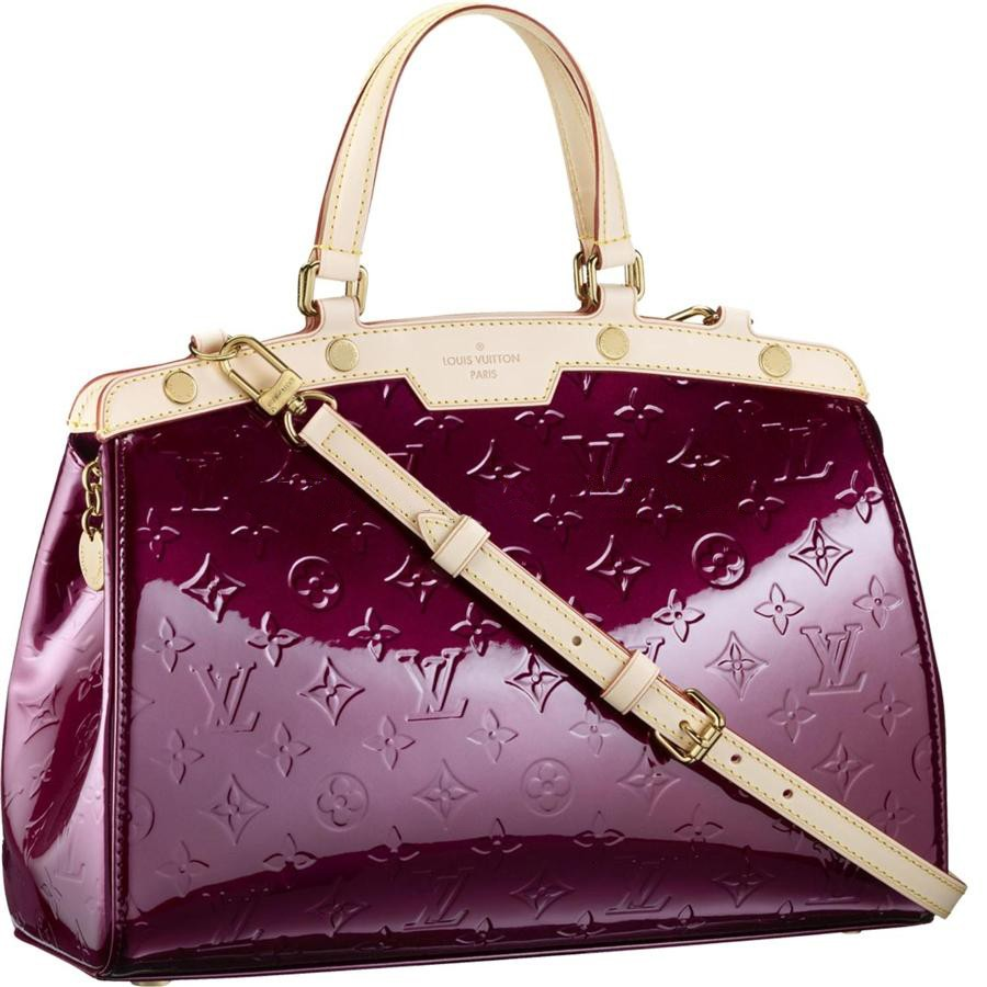 AAA Louis Vuitton Brea MM Monogram Vernis M91690 Replica