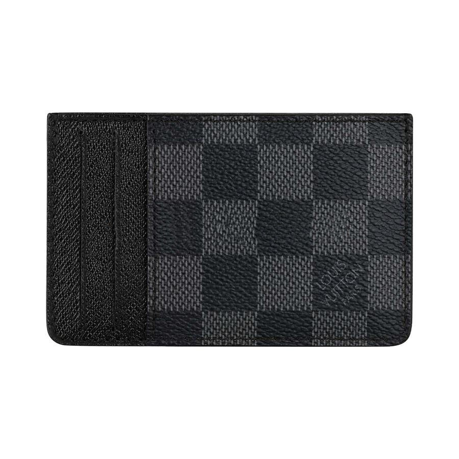 Cheap Louis Vuitton Card Holder Damier Graphite Canvas N62666