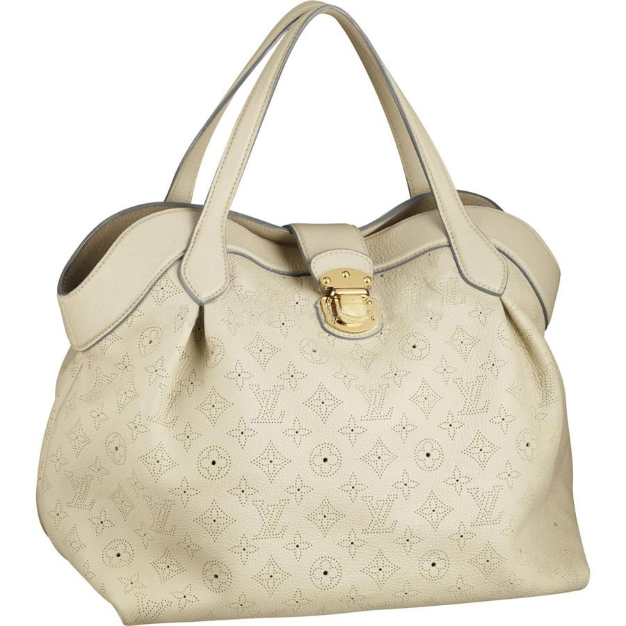 Cheap Louis Vuitton Cirrus MM Mahina Leather M93078 Online