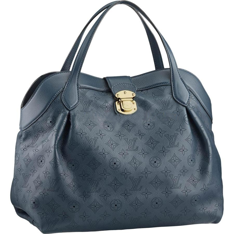 Cheap Louis Vuitton Cirrus MM Mahina Leather M97061 Online