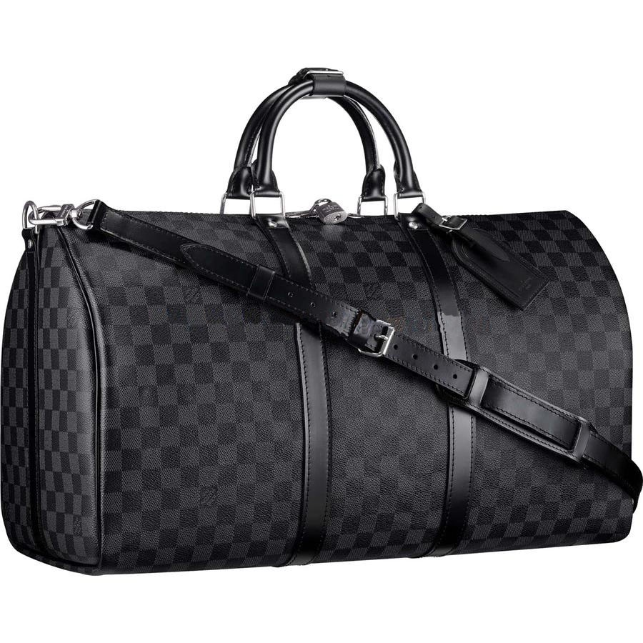 Cheap Louis Vuitton Keepall 55 Damier Graphite Canvas N41413