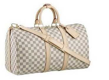 7A Replica Louis Vuitton Damier Azur Canvas Keepall 45 N41423