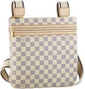 7A Replica Louis Vuitton Damier Azur Canvas Pochette Bosphore N51112