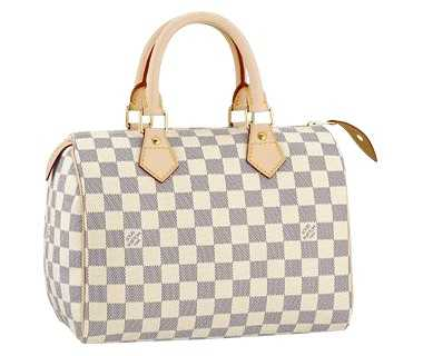 7A Replica Louis Vuitton Damier Azur Canvas Speedy 25 N41534