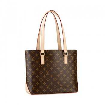 7A Replica louis Vuitton Monogram Canvas Cabas Piano M51148 Online