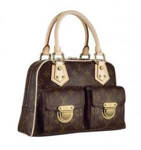 7A Replica louis Vuitton Monogram Canvas Manhattan PM M40026 Online